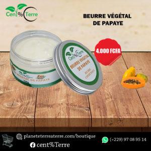 beurre de papaye